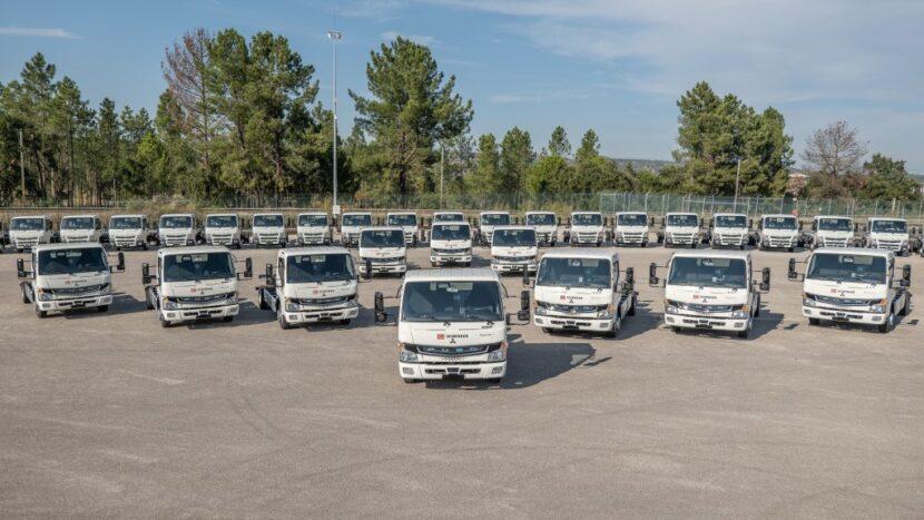 36 de camioane electrice FUSO eCanter pentru DB Schenker