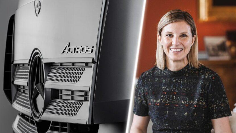 Karin Radstrom va prelua șefia Mercedes-Benz Trucks