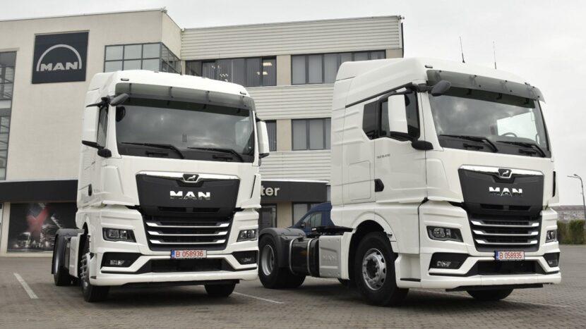 Primele MAN TGX din noua generație livrate în România