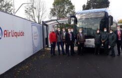 Autobuz Solaris cu hidrogen testat la Paris