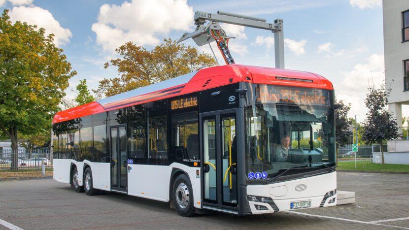 Solaris a prezentat modelul Urbino 15 LE Electric