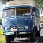 Turul Germaniei: 500 km cu 64 de camioane clasice