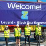 ZIM a lansat noua linie maritimă Levant – Black Sea Express