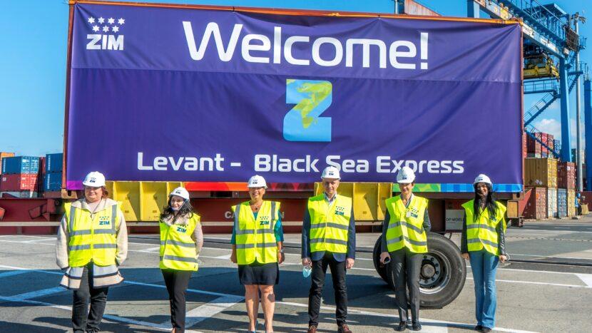 ZIM a lansat noua linie maritimă Levant - Black Sea Express