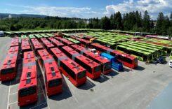 MAN a livrat 127 de autobuze Lion's City în Oslo