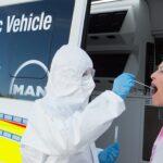 Testare rapidă pentru Covid într-un laborator mobil MAN TGE
