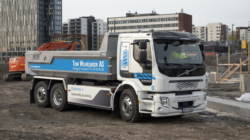 Basculante electrice Volvo în Norvegia