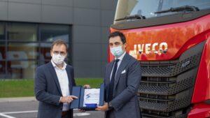 20 de camioane IVECO S-Way LNG pentru Arcese