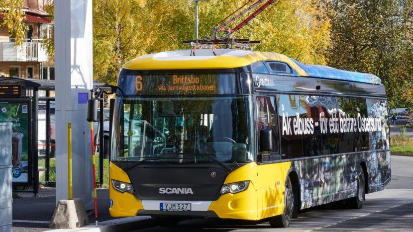 Încă 10 autobuze electrice Scania Citywide în Östersund