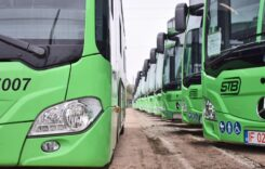 STB a recepționat toate cele 130 de autobuze Mercedes Citaro Hybrid