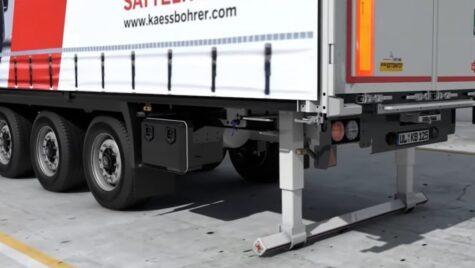 Video: Bară de protecție pliabilă Kässbohrer. Cum îi ajută pe șoferi?
