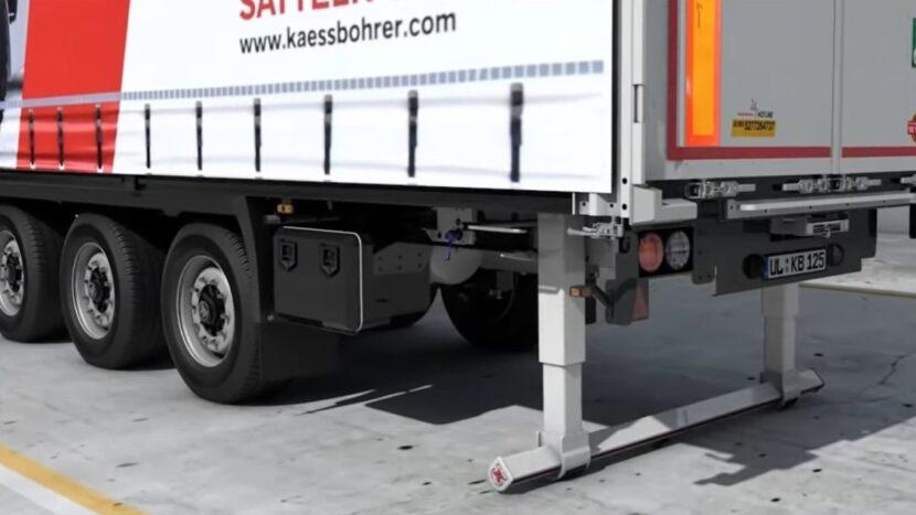 Video: Bară de protecție pliabilă de la Kässbohrer. Cum îl ajută pe șofer?