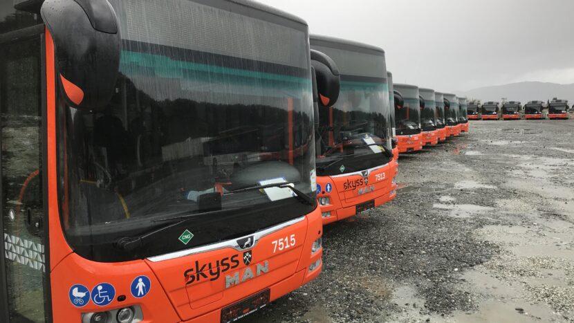 125 de autobuze MAN alimentate cu biogaz în Norvegia