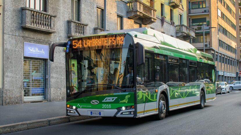 Încă 100 de autobuze electrice Solaris pentru orașul Milano