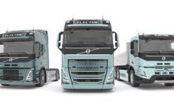 Versiuni electrice pentru Volvo FH, FM și FMX, din 2021