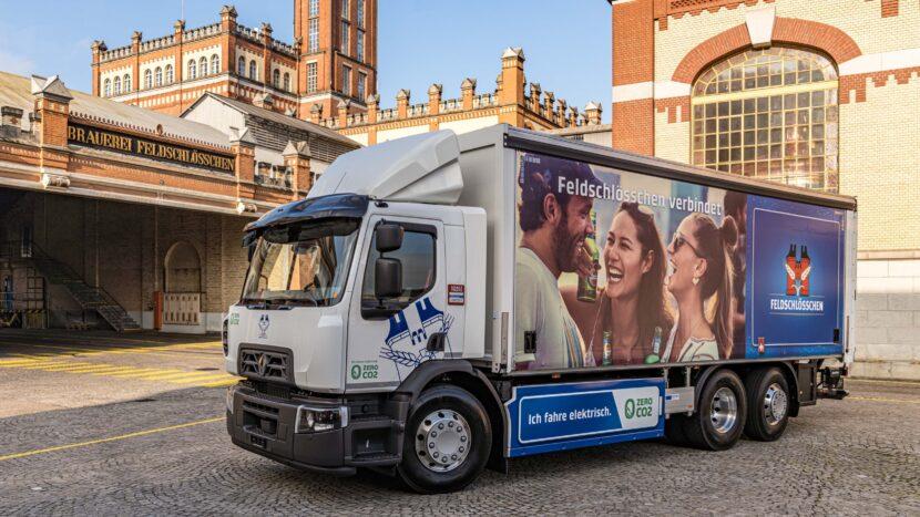 Primul camion electric Renault pentru Grupul Carlsberg