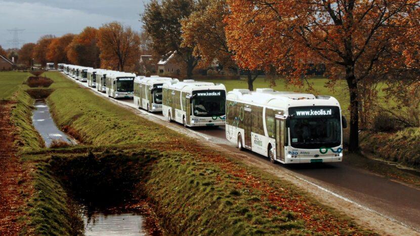 BYD a livrat 246 de autobuze electrice în Olanda