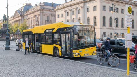 Solaris a livrat 90 de autobuze electrice la Berlin