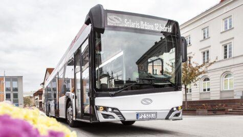 10 autobuze Solaris Urbino 12 hybrid la Reghin