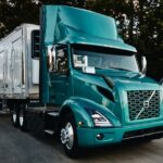 Volvo también está comenzando a vender camiones eléctricos en Estados Unidos.