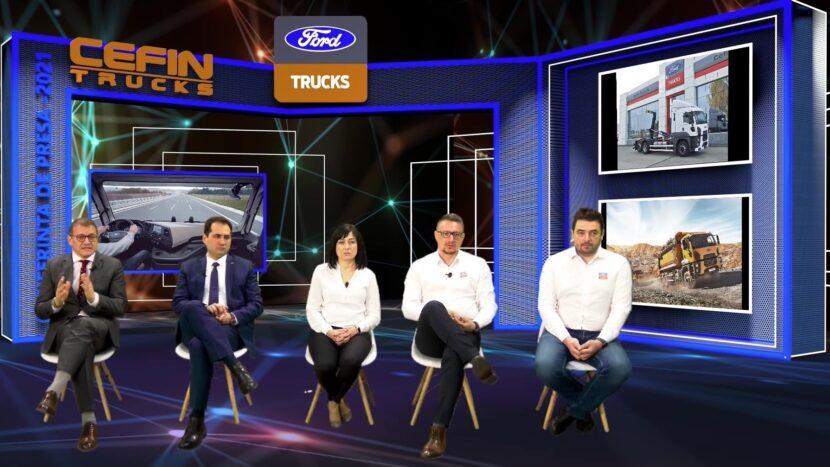 Ford Trucks a atins în 2020 o cotă de piață de 11,8% în România