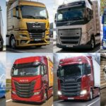 Piața de camioane grele noi din România, scădere de 33% în 2020. Vezi topul mărcilor!