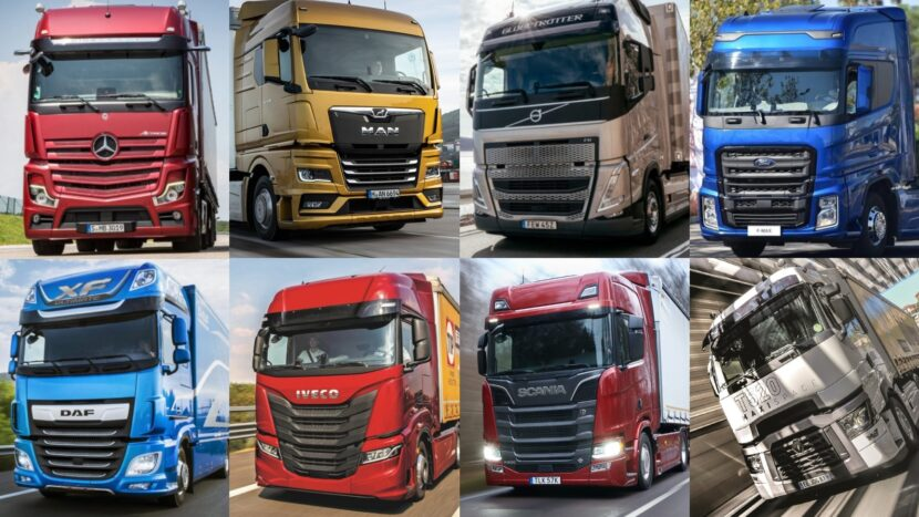 Piața de camioane grele noi din România, scădere de 33% în 2020. Vezi topul mărcilor! cargo-bus.ro