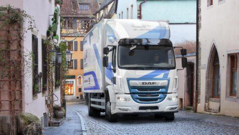 DAF LF Electric, camion de 19 tone pentru distribuție urbană