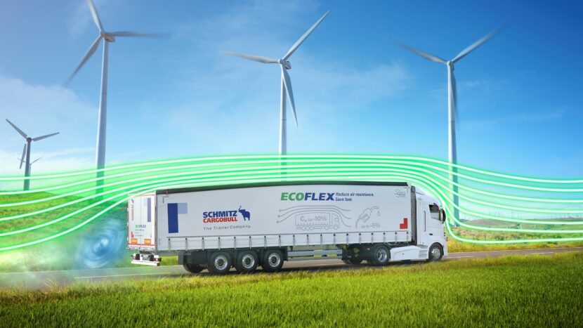 Schmitz Cargobull lansează remorcile aerodinamice EcoGeneration