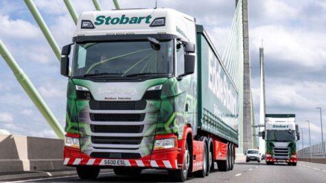 Eddie Stobart a comandat 2.250 de camioane Scania