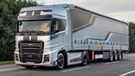 Ford Trucks lansează seria specială F-MAX Blackline