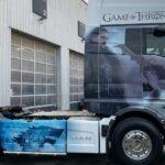 MAN TGX Game of Thrones pentru o companie din Franța