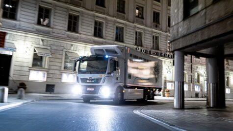 MAN demonstrează avantajele folosirii camioanelor electrice în orașe