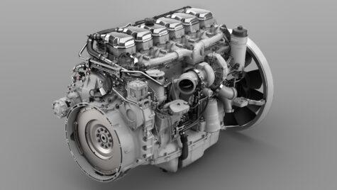 Scania va alimenta cu hidrogen un motor cu combustie internă