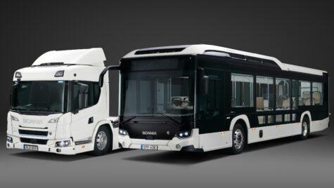 Scania estimează că în 2030 jumătate din vânzări vor fi de vehicule electrice