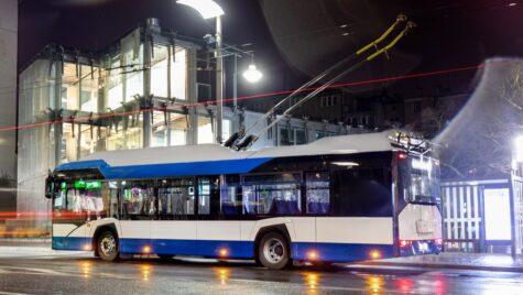 11 troleibuze Solaris pentru orașul Târgu Jiu