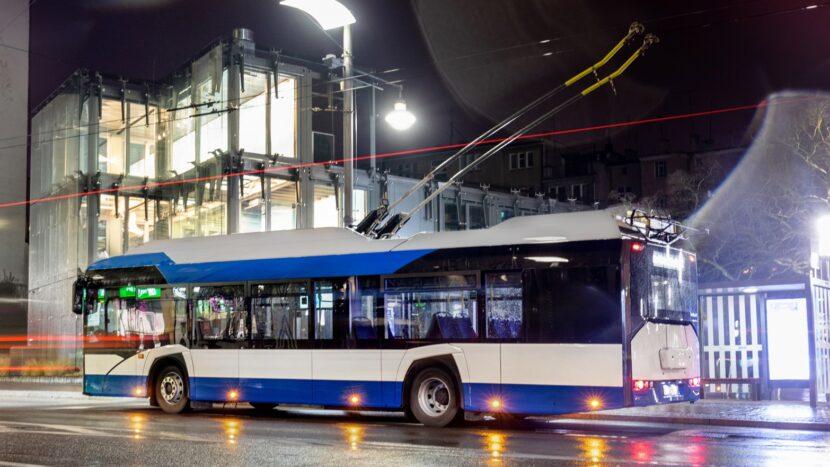 11 troleibuze Solaris pentru Târgu Jiu