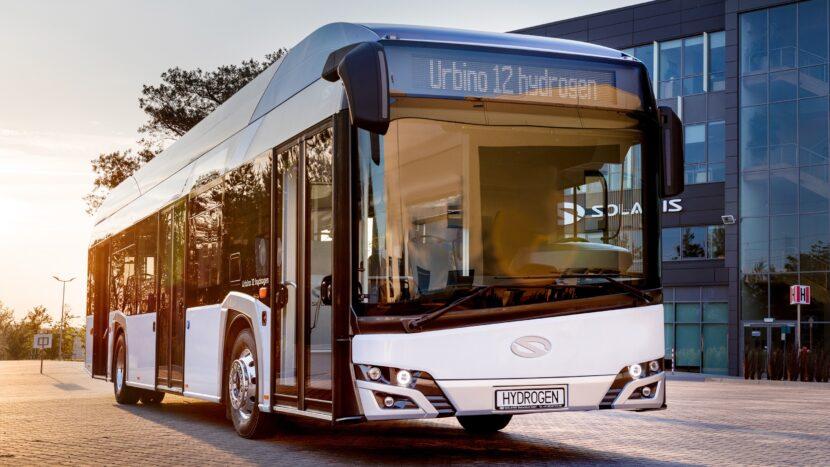 Mai multe autobuze Solaris cu hidrogen în Olanda