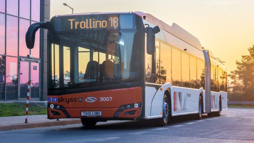 Alte 25 de troleibuze Solaris pentru orașul Brașov