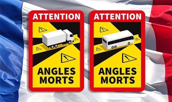 Franța amână până în aprilie amenzile pentru lipsa autocolantelor unghi mort