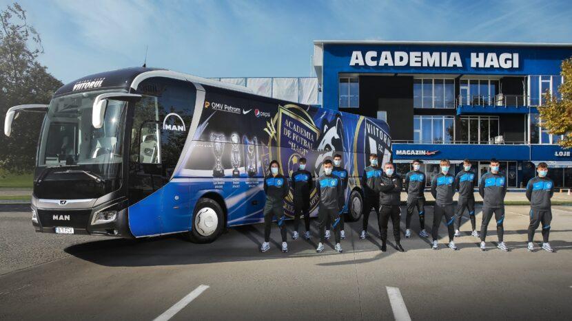 Autocar MAN Viitorul MAN Lions Coach nou pentru FC Viitorul