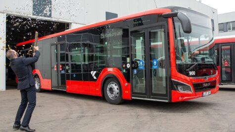 Comandă de 100 de autobuze MAN Lion's City EfficientHybrid