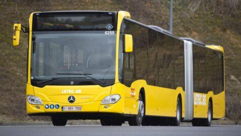 129 de autobuze Mercedes-Benz Citaro G hybrid în Belgia