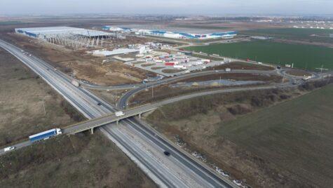 Parc industrial eMAG de 290.000 mp, la Joița