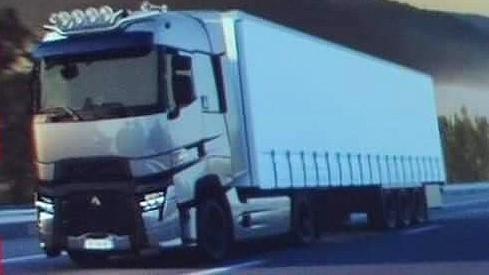 Primele imagini cu noile camioane Renault