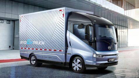 BYD ETM 6, primul camion electric BYD pentru Europa