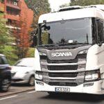 Test Scania G320 Hybrid:Mai nou, mai verde
