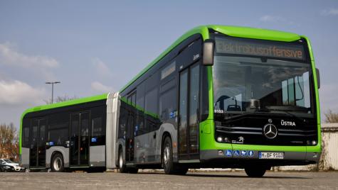 Daimler eCitaro G este echipat cu o baterie superioară