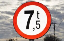 Traficul vehiculelor +7.5 tone restricționat pe DN1