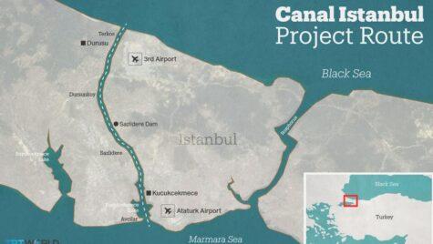 Turcia începe lucrările la controversatul Canal Istanbul